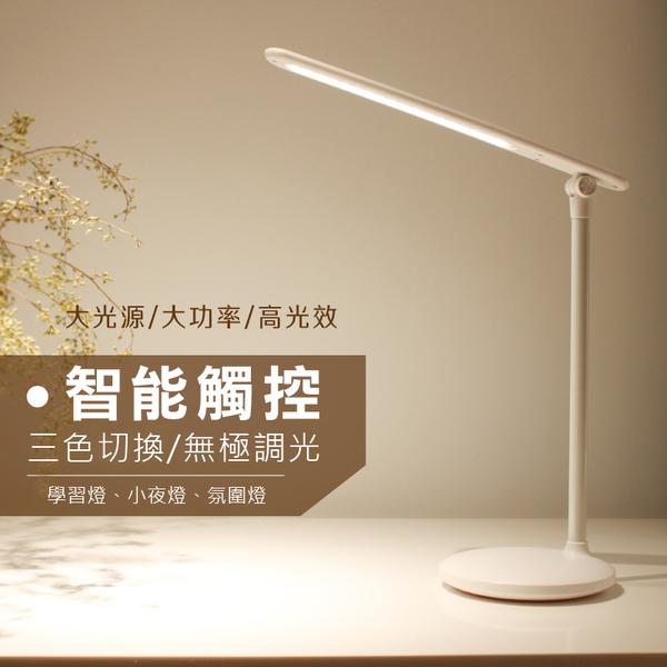 小糯米檯燈 折疊LED桌燈 USB充電式 創意護眼檯燈 無極調光 小夜燈 辦公閱讀宿舍臥室