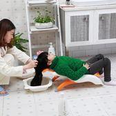 半躺式女寶寶洗頭椅懶媽媽卡通可坐小孩洗省空間加大洗頭神器【小梨雜貨鋪】