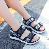男童涼鞋2018新款韓版7夏季9軟底10防滑中大童兒童12歲小孩沙灘鞋【滿一元免運】