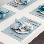 全館85折餐墊歐美中式創意簡約布藝長方形水洗家用西餐墊隔熱墊碗盤耐熱墊 小巨蛋之家