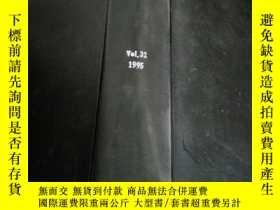 二手書博民逛書店filtration罕見and separation vol.32 1995(過濾與分離)Y212829