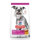 Hills 希爾思 小型及迷你成犬 7歲以上 雞肉、大麥與糙米特調食譜 7kg