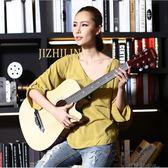 吉之琳38寸民謠木吉他初學者吉它學生新手練習入門男女通用