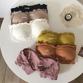 夏季新款韓版無肩帶裹胸內衣小心機性感美背無痕薄款打底抹胸女潮