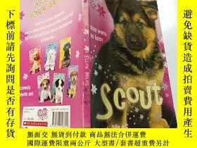 二手書博民逛書店Scout罕見Puppy Place:小偵查軍Y200392
