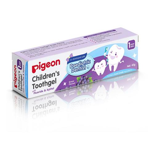 PIGEON 貝親 兒童含氟牙膏(葡萄)【佳兒園婦幼館】