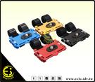 ES數位館 自行車 機車 打擋車 專用 相機 行車記錄器 GPS萬用型 1/4螺牙 鋁合金雲台 車架