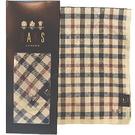 【波克貓哈日網】日系DAKS 手帕領巾◇經典格紋◇《50x50 cm》棕
