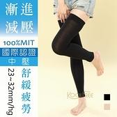 23~32mmHg 束全腿│壓力襪│彈性襪│ 漸進減壓│舒活系列 中壓【康護你】