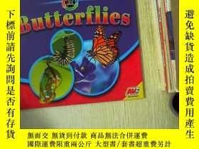 二手書博民逛書店exploring罕見life cycles butterflies 探索生命周期的蝴蝶Y180897