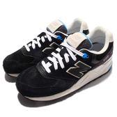 New Balance 999 系列 復古經典慢跑鞋 黑 藍 米白 百搭熱銷款 女鞋 【PUMP306】 WL999MMAB