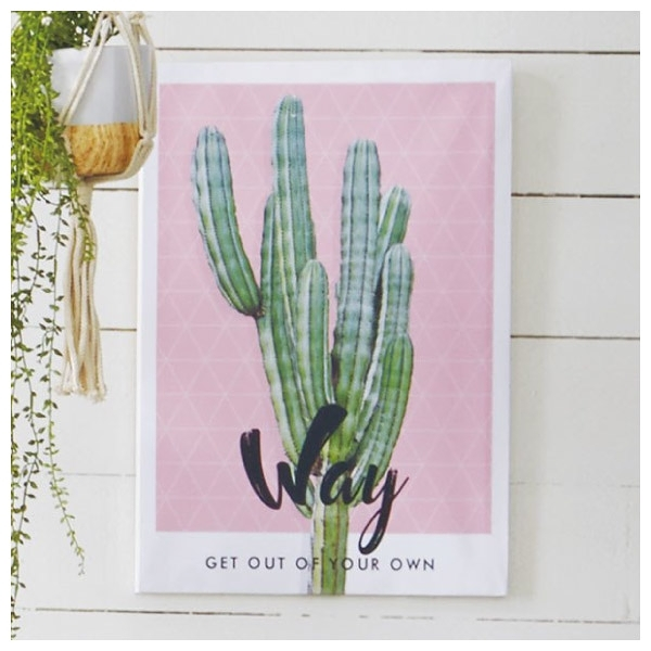 布質壁畫 Cactus way 3550 NITORI宜得利家居