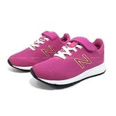 《7+1童鞋》New Balance YT455PP 輕量透氣 運動 慢跑 鞋 9559 桃色