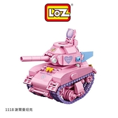 【愛瘋潮】LOZ mini 鑽石積木-1118 謝爾曼坦克