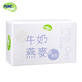 nac nac (新) 牛奶燕麥皂75g