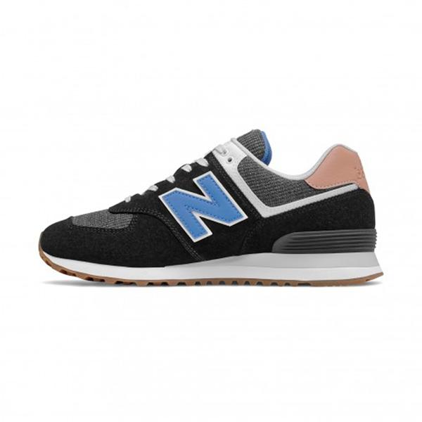 New Balance-574系列復古黑色休閒鞋-NO.ML574TYE