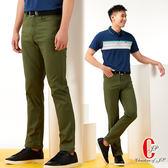 Christian 經典復古彈性牛仔褲_綠色(HS407-3)