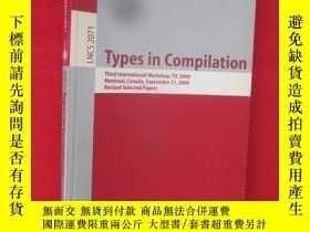 二手書博民逛書店Types罕見in Compilation: Third (小1