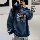 2020新款衛衣男ins連帽韓版寬鬆嘻哈港風秋冬潮流大碼慵懶風外套「時尚彩紅屋」