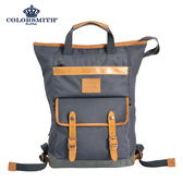 【COLORSMITH】SP8・手提後背兩用包-灰色・SP8-1389-GY