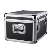 儀器箱-超大型五金工具箱工業級儲物箱子鋁合金車載收納盒大號鐵加厚  【快速出貨】YXS