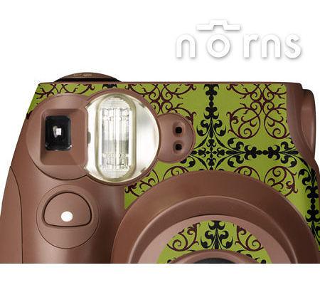Norns MINI7S 專用FUJIFILM日本富士原廠拍立得相機機身貼紙【Choco classic款】Norns