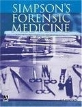 二手書博民逛書店 《Simpson s Forensic Medicine (Hodder Arnold Publication)》 R2Y ISBN:0340764228│Shepherd