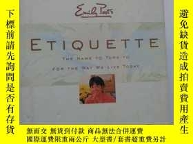 二手書博民逛書店EMILY罕見POST S :ETIQUETTE【16TH ED