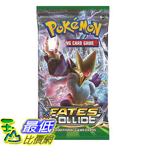 [美國直購] Pokemon XY Fates Collide Booster (4 Packs)