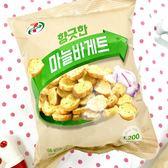 韓國 7-11 土司餅乾--蒜香風味 108g ◆86小舖 ◆