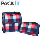 美國 packit  行動式摺疊冰袋/多功能冷藏袋 - 英倫方格