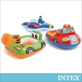 INTEX幼童造型游泳圈-飛機/怪手/快艇(59586)怪手