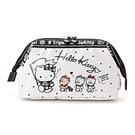 【震撼精品百貨】Hello Kitty 凱蒂貓~Sanrio HELLO KITTY小熊旅行系列大開口防潑水化妝包#81341