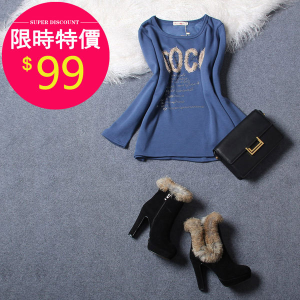 T恤【622】FEELNET中大尺碼女裝秋裝新款加厚加絨打底衫40碼