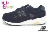 new balance 580 運動鞋 男童鞋 麂皮 中童 慢跑鞋N8463#藍◆OSOME奧森童鞋/小朋友