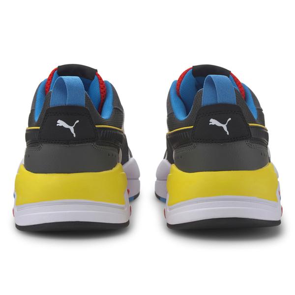 PUMA X-Ray 男鞋 慢跑 休閒 網布 拼接 黑 白 黃【運動世界】37260203