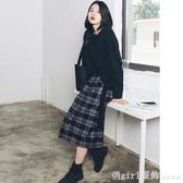 2020秋冬名媛小香風氣質chic衛衣女加半身裙洋氣港味復古兩件套裝 俏girl
