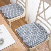 日式棉麻坐墊餐桌椅墊子辦公學生墊子榻榻米家用板凳座墊打坐軟墊 卡卡西