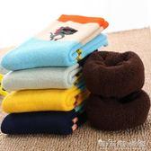男童襪子冬季加厚純棉加絨保暖男女孩兒童毛巾襪全棉寶寶中筒襪厚 晴天時尚館