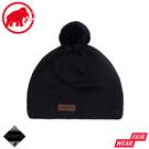 【MAMMUT 長毛象 Snow Beanie 針織保暖毛帽《海洋藍/黑》】1191-01120/保暖帽/針織帽
