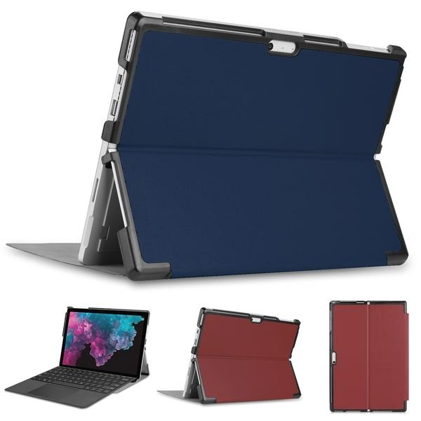 □貼心設計!!可放鍵盤 方便攜帶□ 微軟 Microsoft Surface Pro6 12.3吋 專用可裝鍵盤平板電腦皮套 保護套