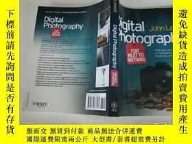 二手書博民逛書店Digital罕見Photography for Next to