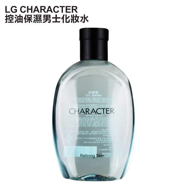 韓國 LG CHARACTER 控油保濕男士化妝水 350ml【PQ 美妝】