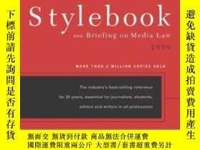 二手書博民逛書店The罕見Associated Press Stylebook And Briefing On Media Law