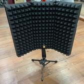 凱傑樂器 microphone isolation shield 錄音用 麥克風圍罩 桌上型 附腳架