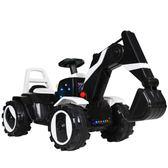 兒童電動挖掘機玩具車可坐可騎寶寶超大號男孩挖土機可遙控工程車 時尚教主
