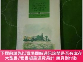 二手書博民逛書店A罕見Modest Proposal and others satiresY18910 Jonathan Sw