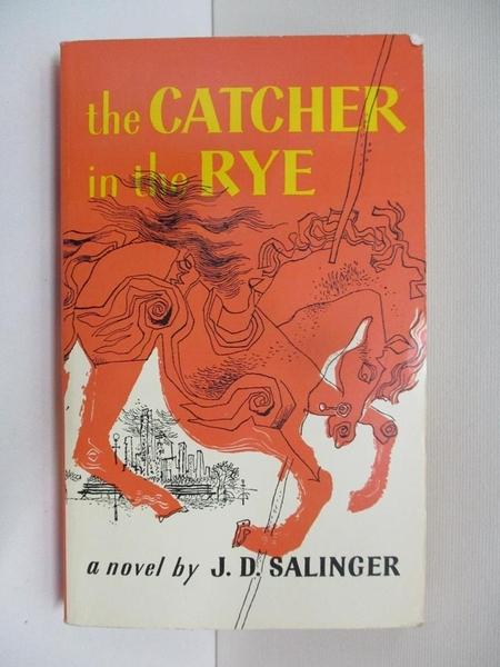 【書寶二手書T1/原文小說_C1Z】The Catcher in the Rye_Salinger