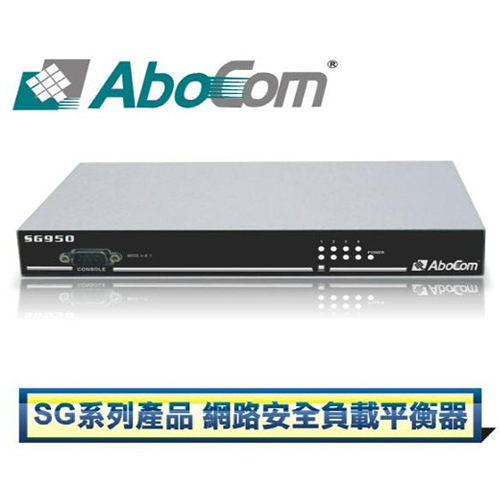 友旺 AboCom SG950  網路安全負載平衡器 Multi-Homing Security Gateway