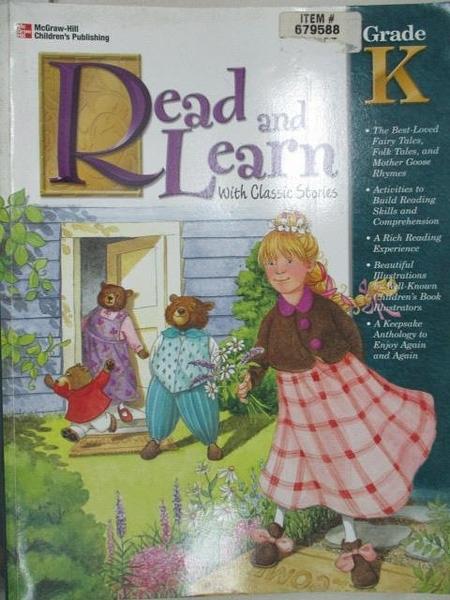 【書寶二手書T4/語言學習_ECZ】Read and Learn with Classic Stories